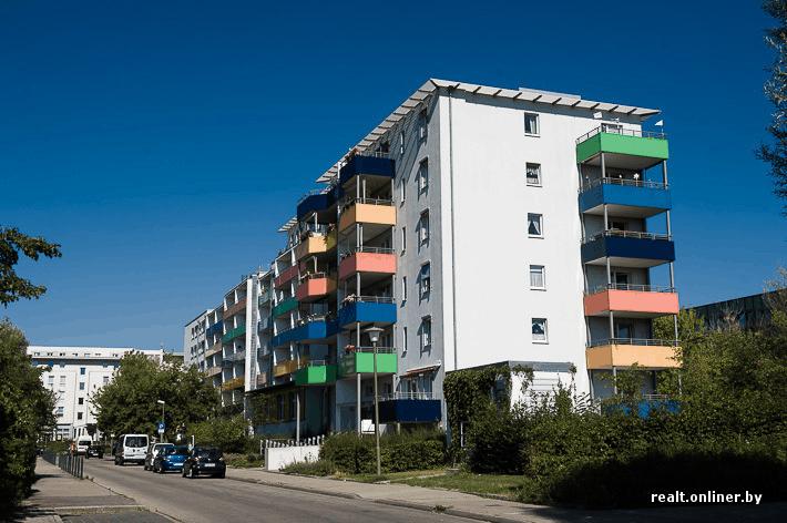 Реконструированные хрущёвки в Германии