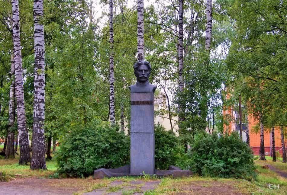 Памятник Николаю Григорьеву в Березовой роще. Фото: Сергей Никитин