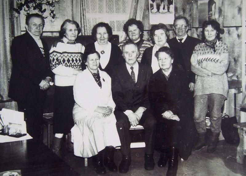Активисты Ингерманландского общества