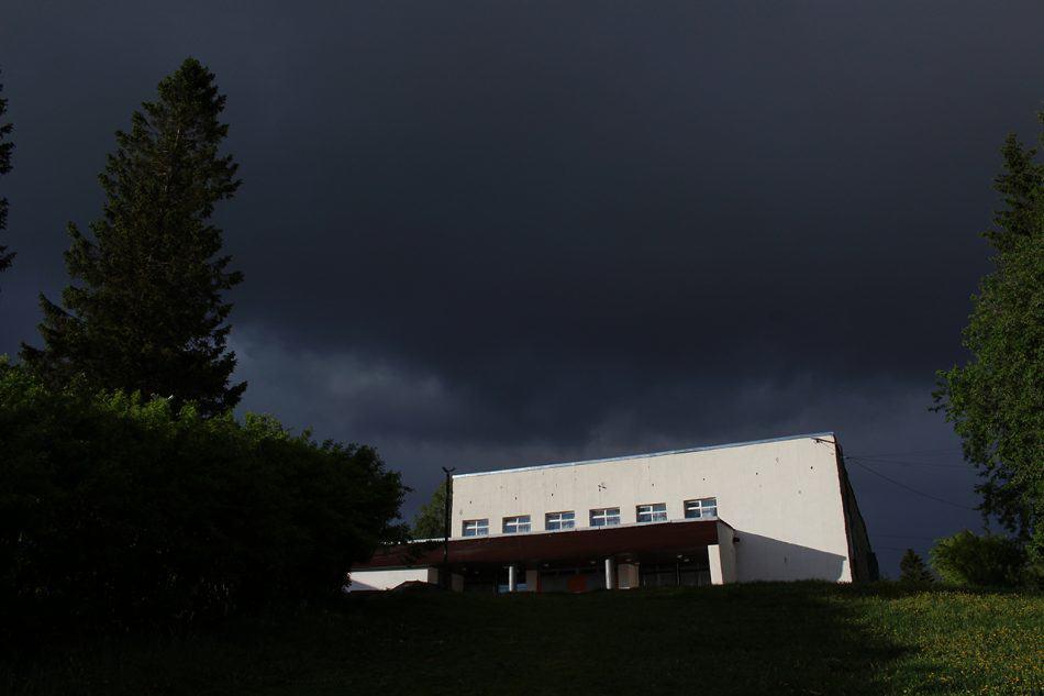 Закрытый Дом культуры в Питкяранте