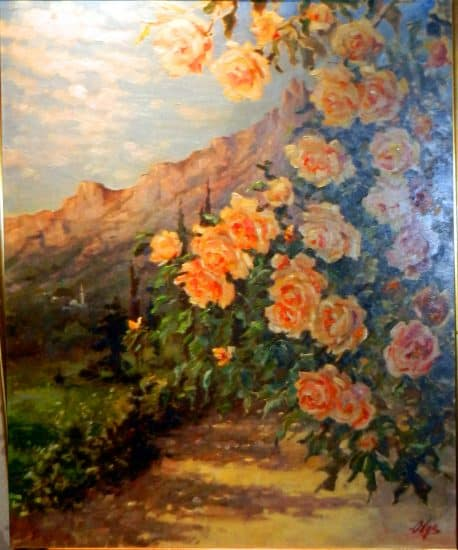 О.А. Романова-Куликовская. Крымские розы