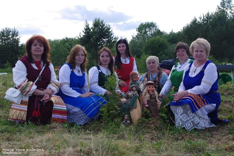 Организаторы праздника. Справа - Наталья Силакова. Фото Юрия Наумова