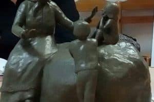 Эскиз победившего проекта памятника Ирине Федосовой