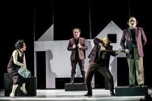 Репетиция спектакля. Фото Театра кукол РК