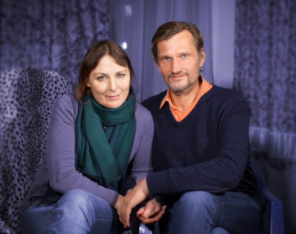 Со Снежаной. Фото Михаила Скрипкина