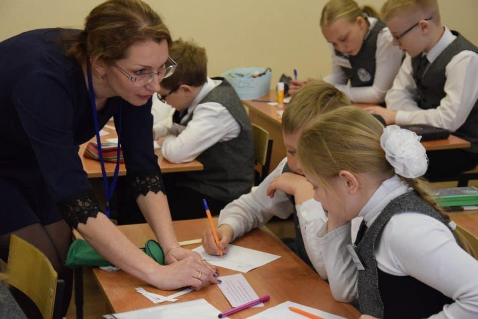 Открытый конкурсный урок Виктории Стафейковой. Фото Марии Голубевой