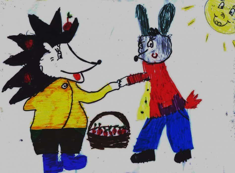 Сочиняла и рисовала Соня Емельянова, детсад №104