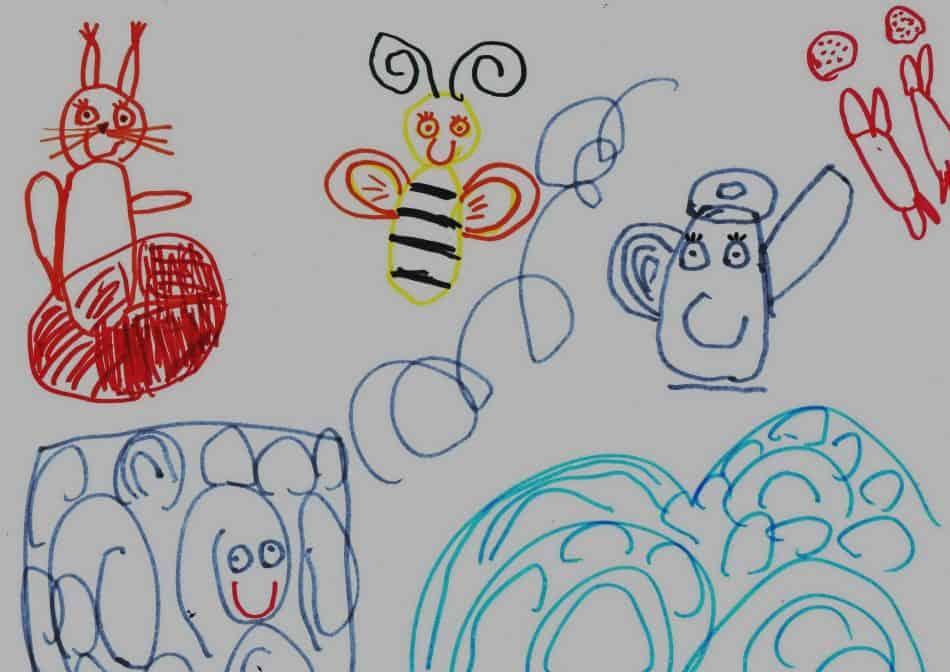 Рисовала Эльвира Коваль, детсад № 115
