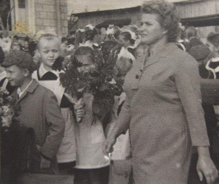 Первая учительница Ирмы Полина Ивановна Ишанькина