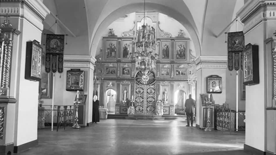 Православная церковь в Салми. Конец 1930-х.  Фотограф Toivo Talvi