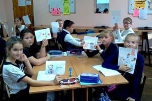 На уроке финского языка. Фото Марии Дмитриевой