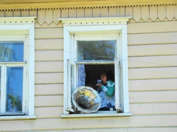 День города в 2009 году. Дом Богданова в Петрозаводске