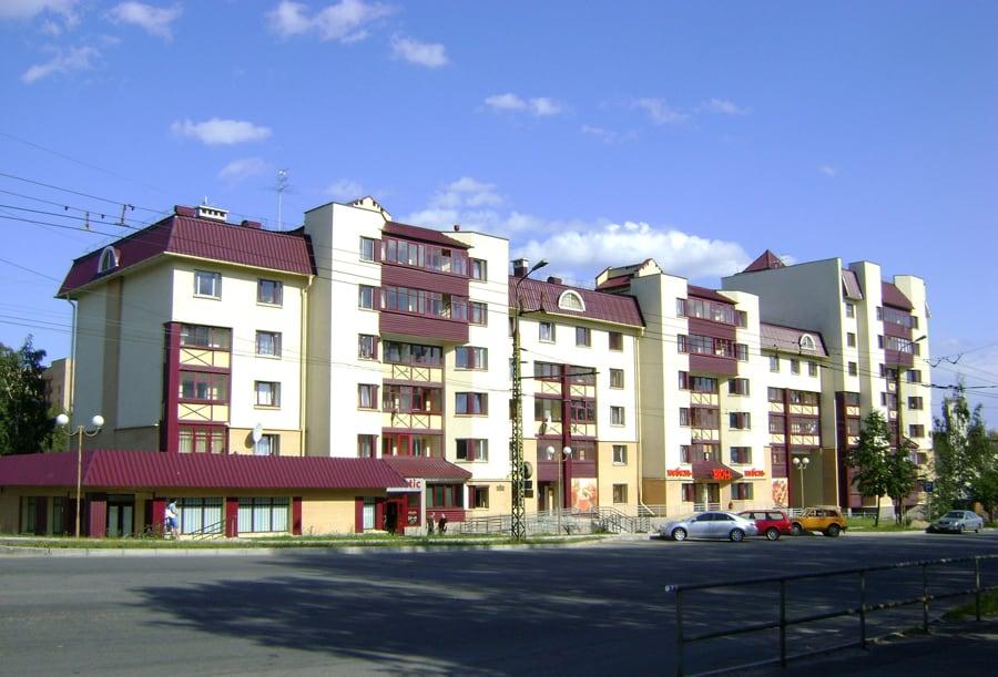 Жилой дом по ул. Красноармейской в Петрозаводске