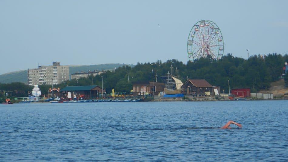 Вид на озеро Семеновское