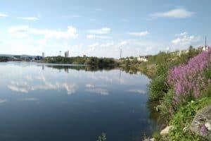Вид на озеро Южное