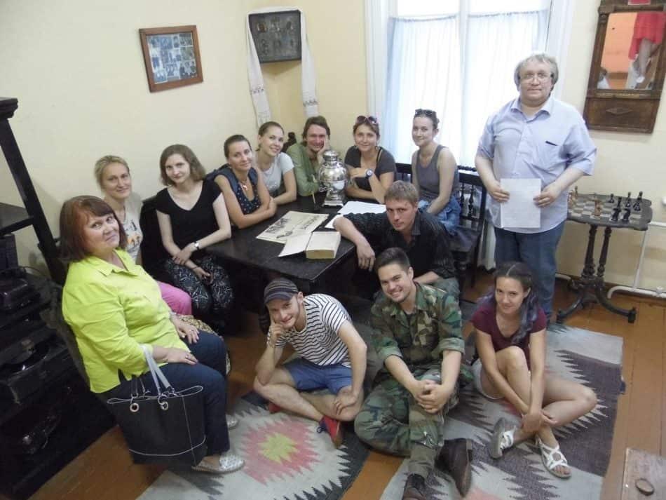 В музее истории и культуры Сыктывдинского района, в котором можно узнать о быте коми все или почти все