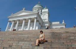 Лариса Хенинен в Хельсинки