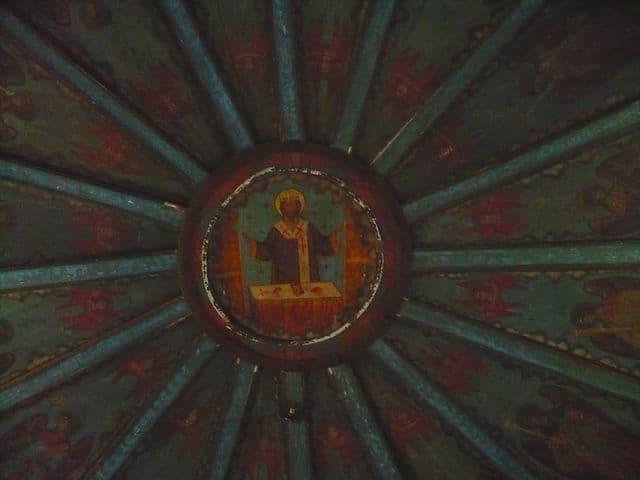 Небо Успенской церкви. Фото: Татьяна Терехова