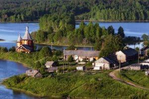 Усть-Река. Фото из аккаунта Александра Гезалова