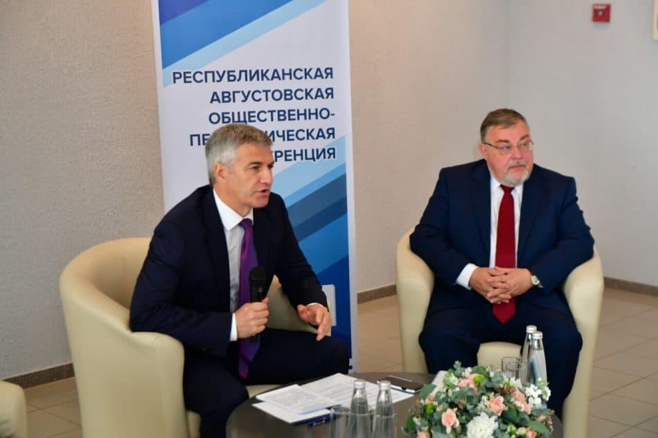 Артур Парфенчиков и Александр Морозов. Фото пресс-службы Главы РК