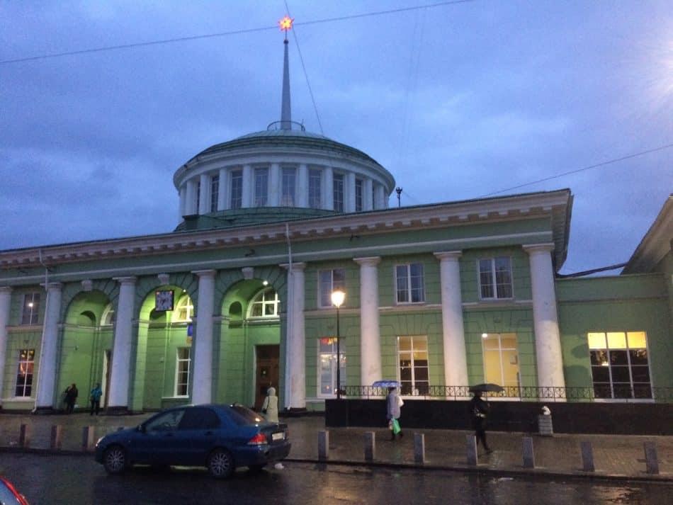 «Вокзал, несгораемый ящик разлук моих, встреч и разлук...» Борис Пастернак