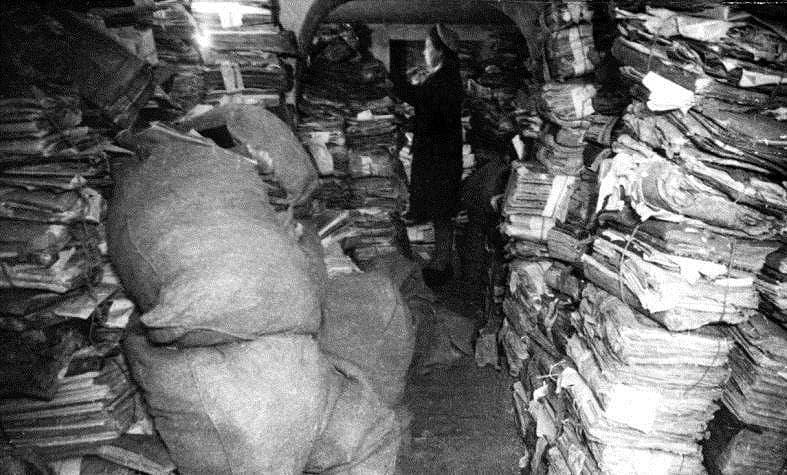 Архивные документы ЦГА КФССР, возвращенные из эвакуации. 1945 год