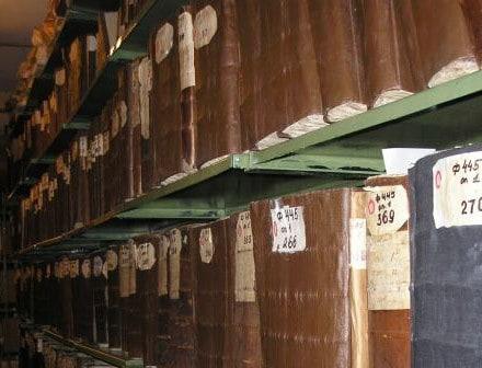 Святая святых архива - фондохранище