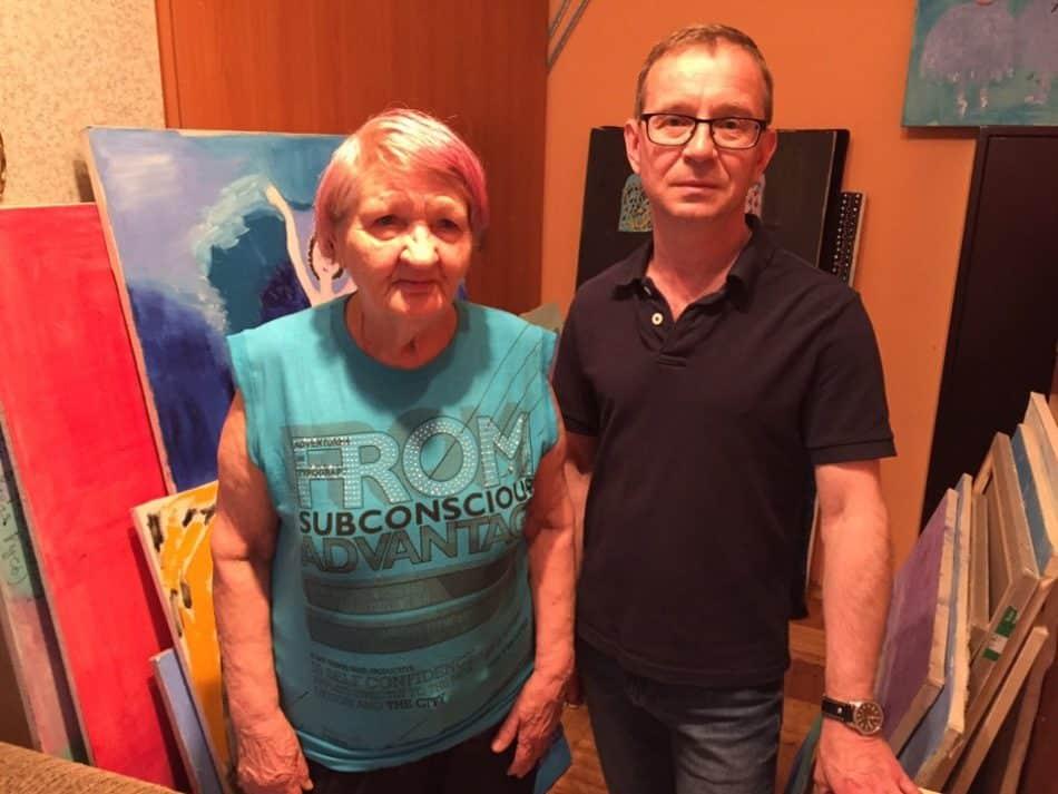 Дмитрий Александров с Екатеринолй Ивановной Медведевой