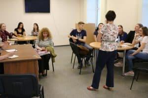 Институт иностранных языков ПетрГУ отпраздновал новоселье