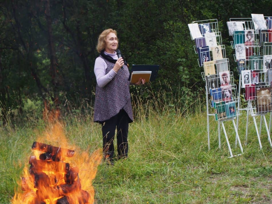 Актриса Наталья Васильевна Гальцина продолжила дело Натальи Васильевны Ларцевой
