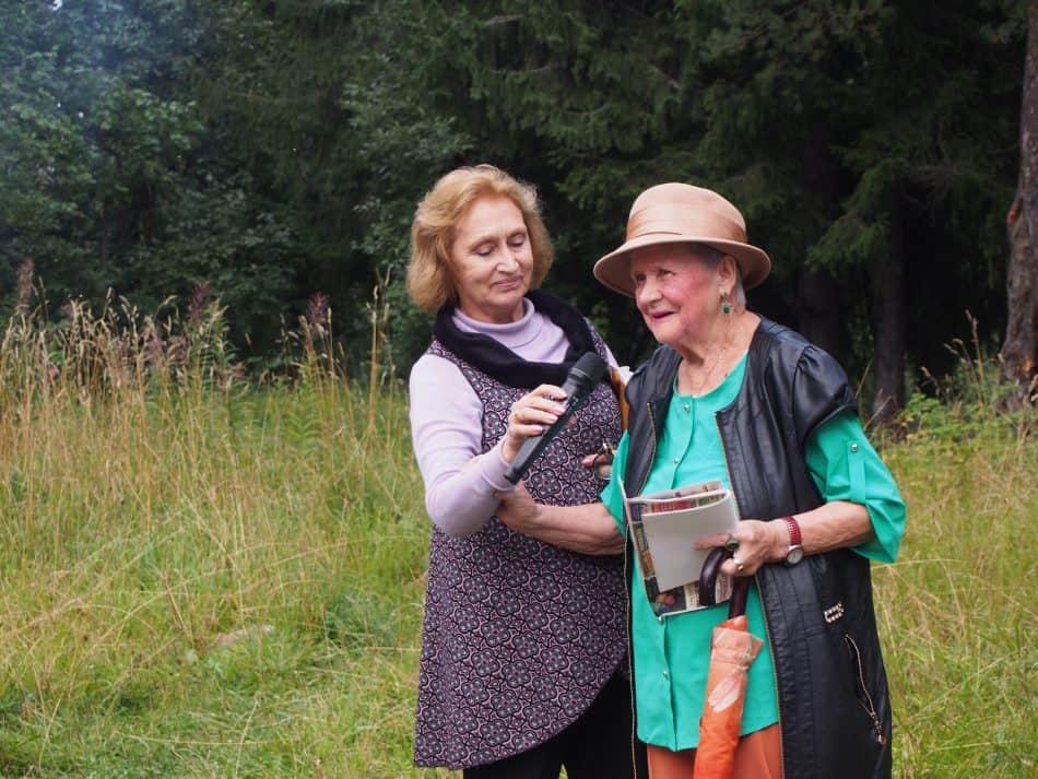 Цветаевский костер в ПетроÐаводске. 31 августа 2018 года. Фото Ирины Ларионовой