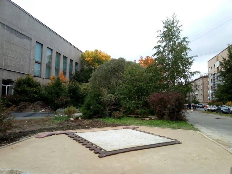 Место, где будет установлен памятник. Фото Натальи Мешковой