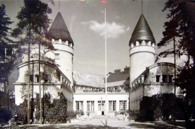Санаторий Хювинге. 1917 год