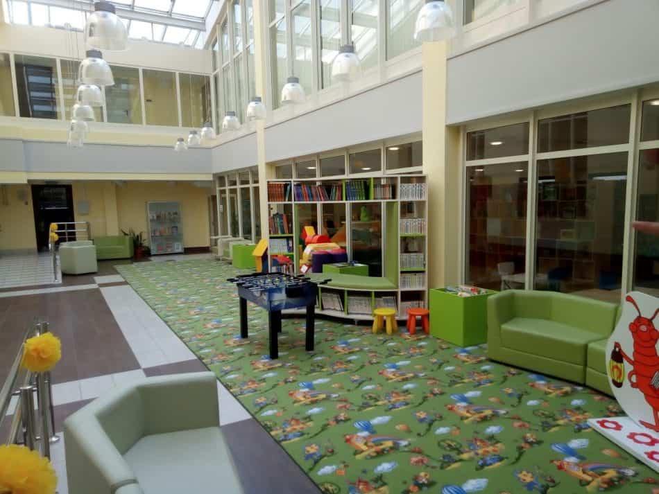Игровая зона Центра детского чтения