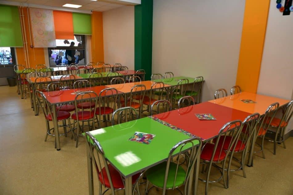 Новая школа в посёлке Ледмозеро Муезерского района Карелии. Фото пресс-службы главы РК