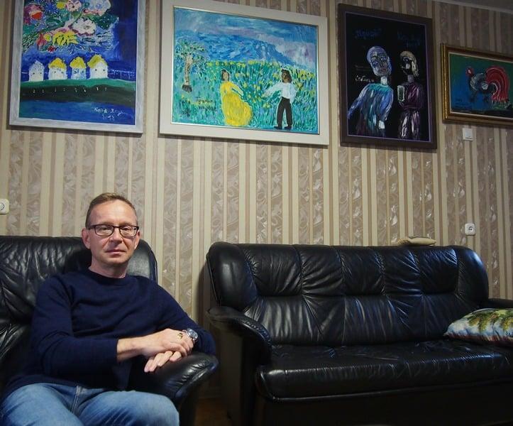 Дмитрий Александров и его коллекция. Фото Ирины Ларионовой