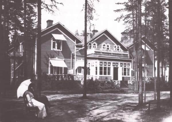 Первый корпус санатория