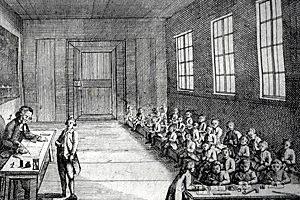 Школа XVIII века. Илл.: biblio-on-line.blogspot.com