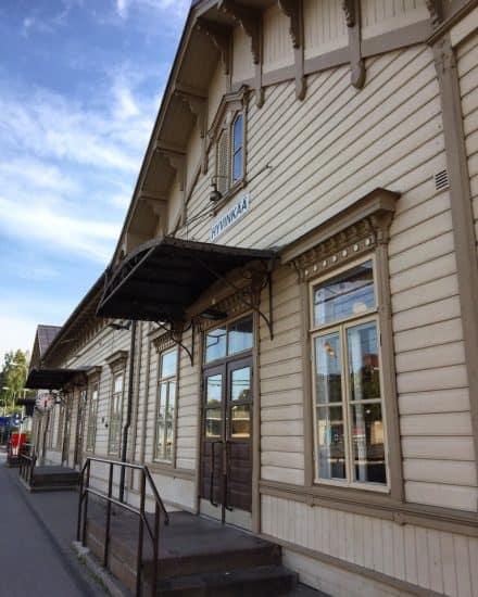 Станция Хювинкяя. Фото Ларисы Хенинен