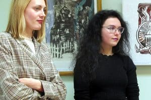 Евгения Лебедева и Наталья Макарова