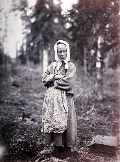 Карельская крестьянка. Более выразительный портрет сделать трудно