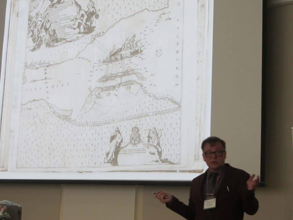 Исследователь петровской эпохи из Санкт-Петербурга, доктор исторических наук Павел Кротов