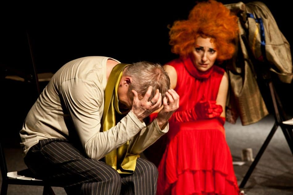 """Сцена из спектакля """"Другой человек"""". Фото: vk.com/teatr_tm"""
