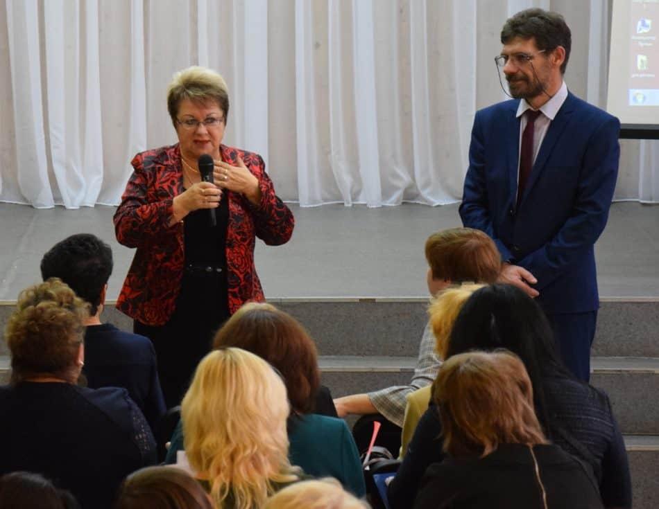 Участники форума в Пряжинской средней школе. Фото: Мария Голубева