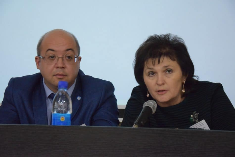Ольга Коршунова и  Дмитрий Гусев