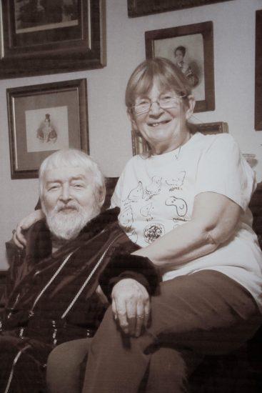 Мюд Мечев и Ольга Хлопина-Мечева. Фото из семейного архива