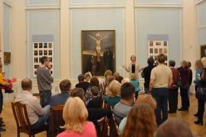 В Ночь искусств в Музее ИЗО Карелии год назад Фото: vk.com/rk_artmuseum