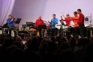 Renaissance Percussion в Карельской филармонии. Фото: vk.com/kgfptz