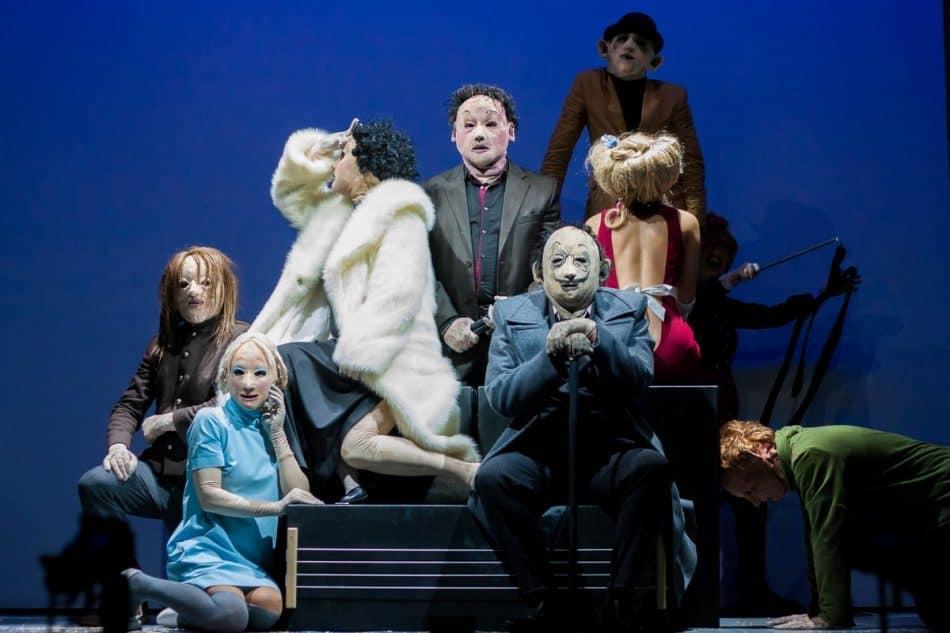 Сцена из спектакля «Сад» Театра кукол Карелии. Фото Михаила Никитина