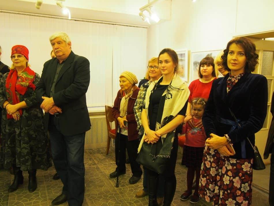 На выставке Жанны Свиридниковой в Доме куклы